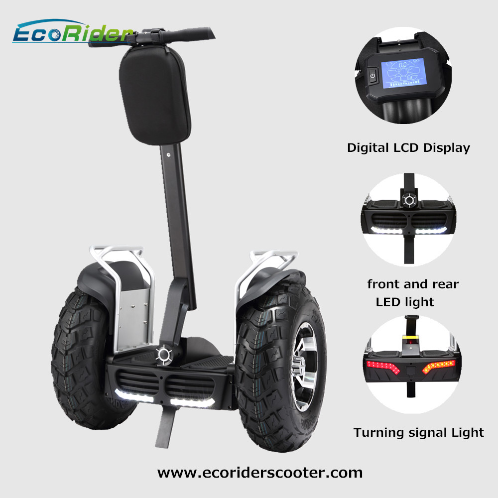 ecorider 72v 1266wh two wheels electric balance scooter. Black Bedroom Furniture Sets. Home Design Ideas