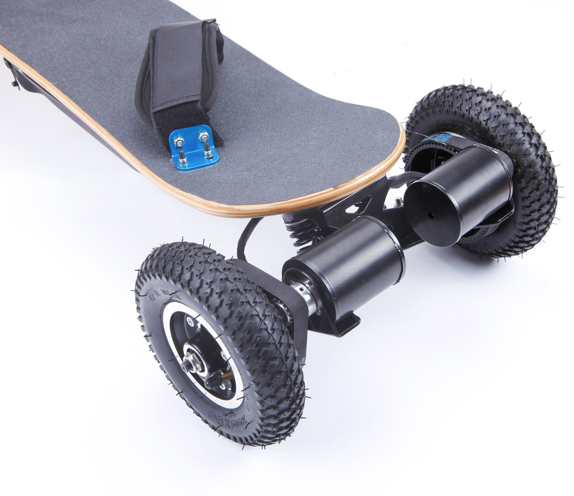 Adult Off Road Electric Skateboard 4 Wheel Brushless Motor