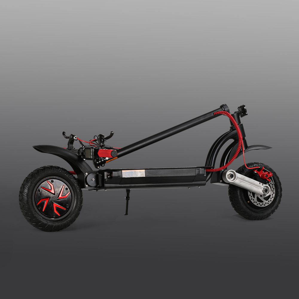 Off Road Two Motor Folding Electric Scooters