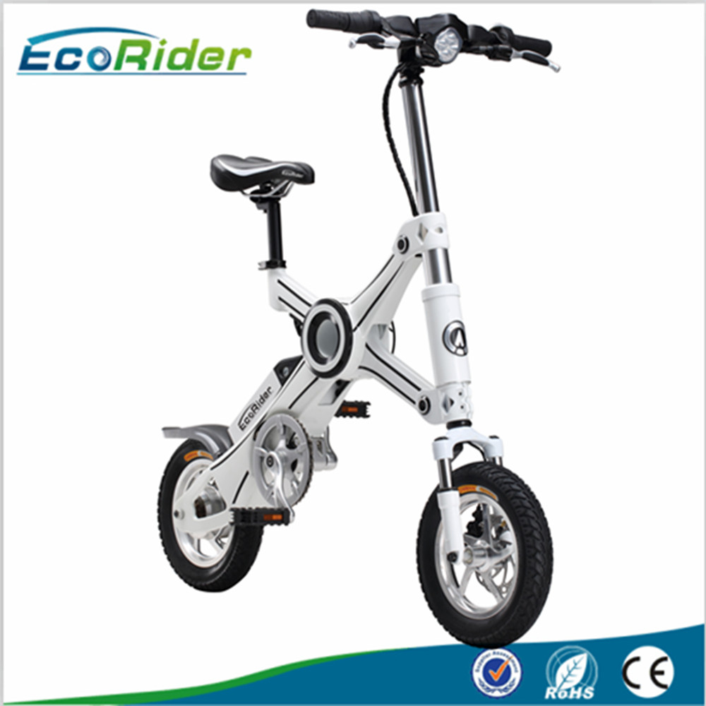 china 2017 most popular ecorider electric folding bike e6. Black Bedroom Furniture Sets. Home Design Ideas
