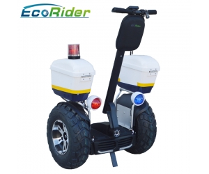 2018 EcoRider Latest off road Segway,72V 4000W self balancing electric scooter for police and patrol
