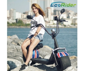 2018 Factory price new style 1000w 60v 12ah electric scooter city coco with EEC certificate