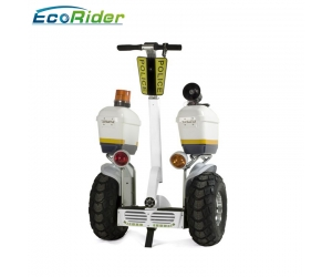 2018 Fashion Police Use 21 Inch Fat Tire Two Wheel Electric Chariot Covered Electric Scooter
