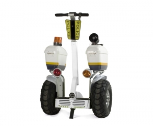 2019 fashion police use 21 inch fat tire two wheel electric chariot covered electric scooter
