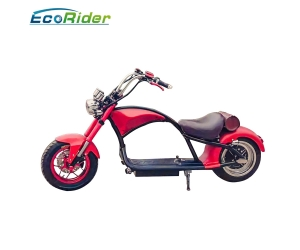 60km/h Disc Brake Electric Scooter for Adults Factory Citycoco with Front and Rear Suspension Shock
