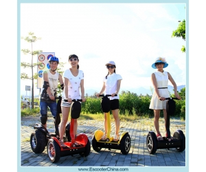 Best selling self balancing China electric chariot Robotic transporter scooter
