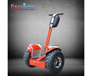 ESOII CE-gemarkeerde New Design Off Road 2 Wheel Stand up Scooter Electric Segway Chariot X2 met uitstekende prestaties