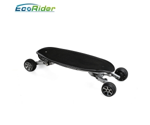 Carbon fiber 4 wheels electric scooter 36v 8.8Ah with App control