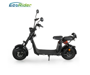 Citycoco 1500w 2018 new model 2 wheel fat tire electric scooter off road with EEC certificate