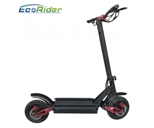 EcoRider E4-9 Powerful 3600w Dual Motor Off Road Foldable Electric Scooter With 60V Lithium Battery