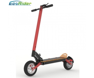 EcoRider Fat tire 10 inch two wheel high speed 1000w dual motor electric scooter with seat for adults