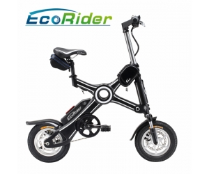 Foldable Electric Bike Brushless  Motor Electric Bicycle with 12 Inch E Bike Folding Electric Bike Scooter