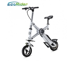 Folding Electric Bike,2 Wheel Electric Scooter,E-bike EcoRider E6