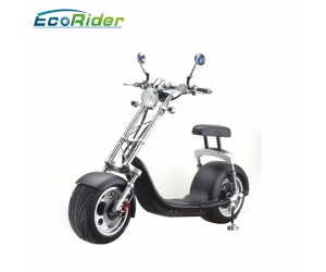 Harley Style Big Wheels Lithium Battery Citycoco Electric Scooter