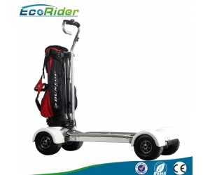 New Chinese Four Wheels Electric Golf Trolley Cart/Electric Scooter/Electric Golf Trolley for Riding, EcoRider Golf board