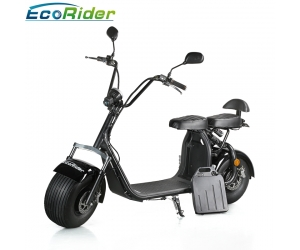 New model citycoco harley scooter 60V 12AH lithium battery electric scooter with EEC certificate