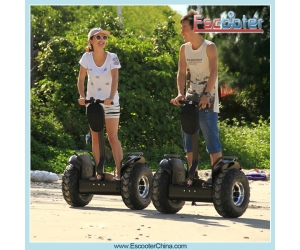 Off Road 2000W Electric Chariot X2 Segway Scooter 2 Wheel Stand up Scooter with CE FCC and Rohs from Shenzhen XinLi Factory