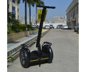 Police Use City Segway 72V lithium Battery Self Balancing Electric Scooter with Police Card