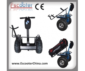 deux roues golf scooter solde golf cart lectrique scooter avec golf support 72v esoi l2. Black Bedroom Furniture Sets. Home Design Ideas