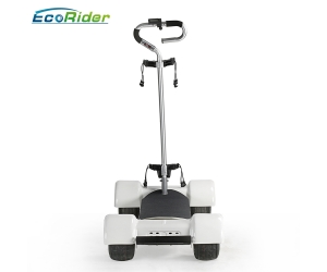 White Golf Cart Mobility Scooter 10.5inch Tire 4 Wheels Electric Golf Scooter Golf Board