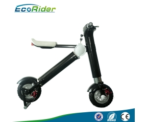 new products 2017 EcoRider lithium battery folding e bike/folding electric bike/mini bicycle/foldable ebike 500W