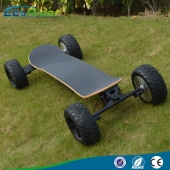 China 2017 China Cheap High Speed 35km/h off road four wheel electric skateboard 48v factory