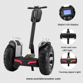 China 2017 EcoRider APP kontrolliert 4000W Brushless Motor Zweirad Segway selbst Blancing Electric Scooter-Fabrik