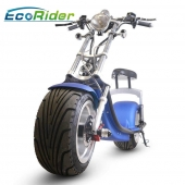 La fábrica de China 2017 popular electric scooter with big wheels fashion citycoco scooter with 40-60 km per charge for adults