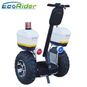 China 2018 EcoRider Latest off road Segway,72V 4000W self balancing electric scooter for police and patrol factory