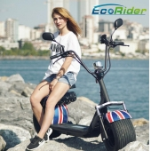 China 2018 Factory Price New Style 1000W 60V 12Ah Electric scooter City Coco mit EEC Zertifikat-Fabrik