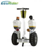 China 2018 Fashion Police Use 21 Inch Fat Tire Two Wheel Electric Chariot Covered Electric Scooter factory