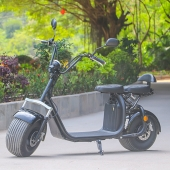 China 2018 Removable battery 60v 12/20ah citycoco scooter 2 wheels with Front and rear shock absorber EEC approved Ecorider factory
