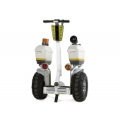 China 2019 fashion police use 21 inch fat tire two wheel electric chariot covered electric scooter factory
