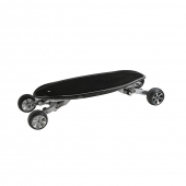 China Best Wholesale 4 Wheels carbon fiber deck Skateboard with brushless hub Motor China factory all terrain electric skateboard factory