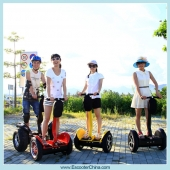 China Best Selling Self Balancing China Electric Chariot Roboter Transporter Scooter-Fabrik