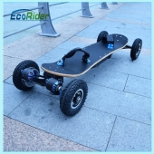 China Bürstenlose 1800W Samsung 36v Off Road Elektro-Skateboard mit Wireless-Steuerelement entfernen-Fabrik