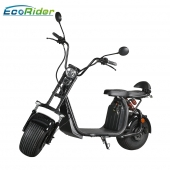 China EEC approval double suspension citycoco scooter harley electric scooter with 1500w 60v lithium battery factory