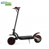 China EcoRider 10inch Double Motor Folding Electric Scooter E4-9,Two Wheel Kick Scooter for Adult factory