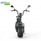 Кита EcoRider 1500w Off Road Two Wheel and Seat Электрический скутер Harley Scooter с литиевой батареей 60В 12ah завод