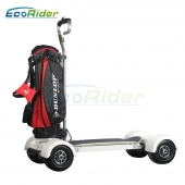 China EcoRider 4 Wheel Electric Scooter, Electric Golf Skateboard,Big Wheel Golf Garts factory