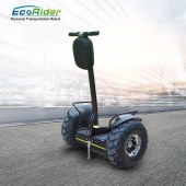 China EcoRider Buy discount lithium battery electric scooter , 2 wheel self balancing electric chariot factory