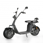 Кита EcoRider Citycoco Fat Tire Electric Scooter, два колеса Harley Electric Bike Supplier завод