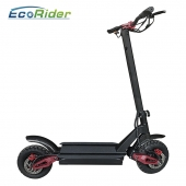 China EcoRider E4-9 Powerful 3600w Dual Motor Off Road Foldable Electric Scooter With 60V Lithium Battery factory