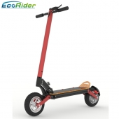 China EcoRider Fat tire 10 inch two wheel high speed 1000w dual motor electric scooter with seat for adults factory