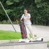 China EcoRider Four Wheels 1000W Golf Electric Chariot Scooter ,Golf Electric Chariot factory