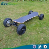 China EcoRider Four Wheels Electric Skateboard with CE factory