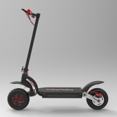 China EcoRider Off Road Folding Electric Scooter 10Inch Dual Motor With 48v 10.4ah Li-on Battery factory