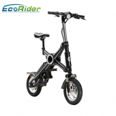 China EcoRider Two Wheel Foldable Electric Bike,China Electric Bicycle Supplier factory