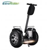 China EcoRider Two Wheels Stand UP Electric Scooter Self Balancing Segway Chariot with two Samsung lithium 84v, 1266wh Battery factory