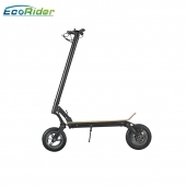 China EcoRider best 2 wheel stand up 48v folding electric kick scooter for adults factory